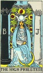 High Priestess Tarot Paula Lustemberg